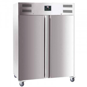 Armoire Réfrigérée Négative en Inox - 2 Portes - 1400 L FourniResto - 1
