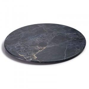 """Plateau Rond """"Stone"""" En Mélamine - Ø 350 Mm Lacor - 1"""