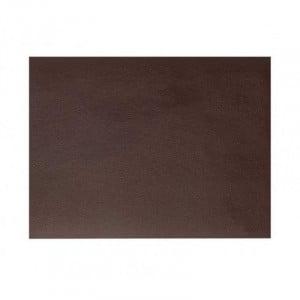 Set De Table Rectangulaire En Cuir Marron Grainé Rinia - 45X30 Cm Lacor - 1