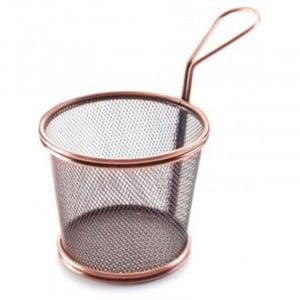 Panier Conique En Inox Bronze - Ø 12 Cm Lacor - 1