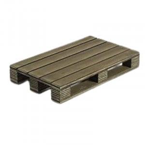 Mini Palette De Présentation En Bois - 20 X 12 Cm Lacor - 1