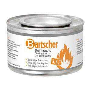 72 Boites de Gel Combustible 3,5 Heures Bartscher - 1