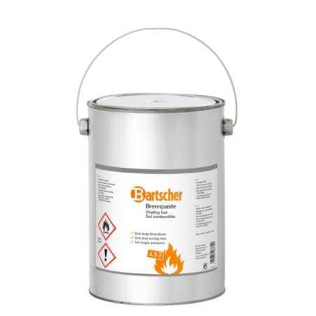 4 Seaux de Réserve de Gel Combustible Bartscher - 1