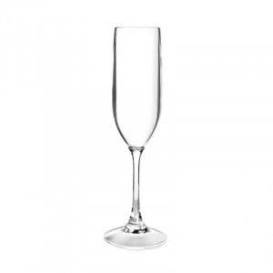 Flûte À Champagne En Tritan - 150 Ml - Lot De 6 Lacor - 1