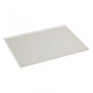 Plat de Présentation à Pâtisseries Blanc - 400 x 300 mm FourniResto - 1