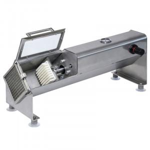 Coupe-Frites Pneumatique en Inox avec Couteau 8 mm et Poussoir Tellier - 1