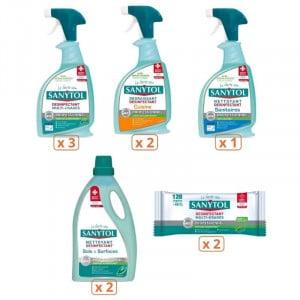 Pack Sanytol Complet - Multi-Usages, Cuisine, Sanitaires et Sols Sanytol - 1