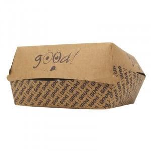"Lot de 100 Boites Burger ""Good"" - Eco Responsables FourniResto - 1"