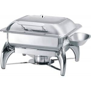 Chafing Dish GN2/3 avec Couvercle Vitré Atosa - 1