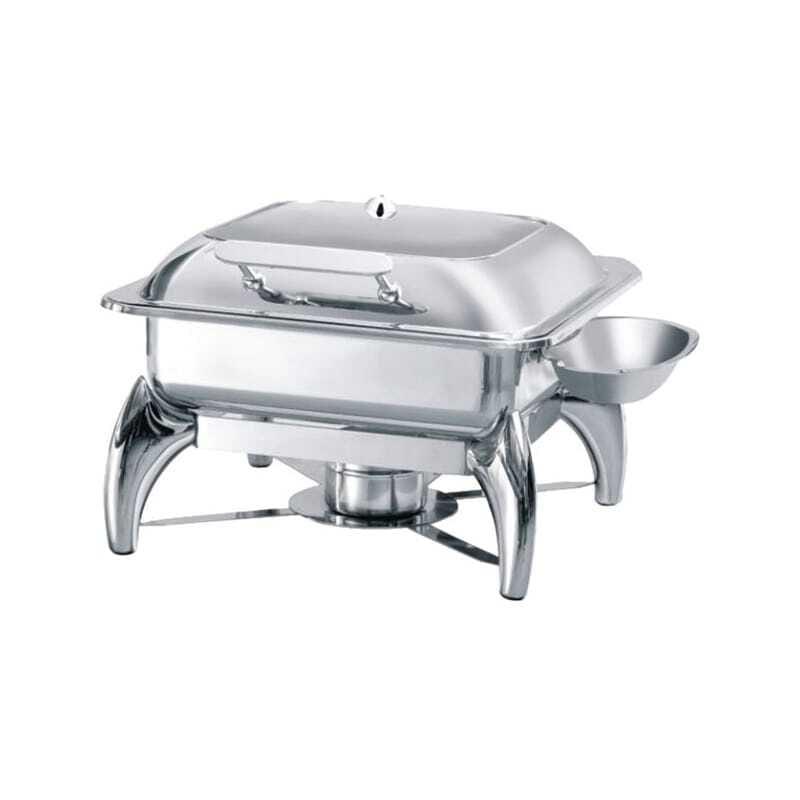 Chafing Dish GN2/3 avec Couvercle Vitré