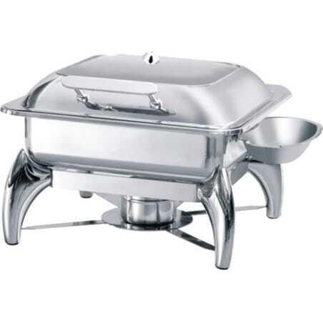 Chafing Dish GN2/3 avec Couvercle Vitré Atosa - 1