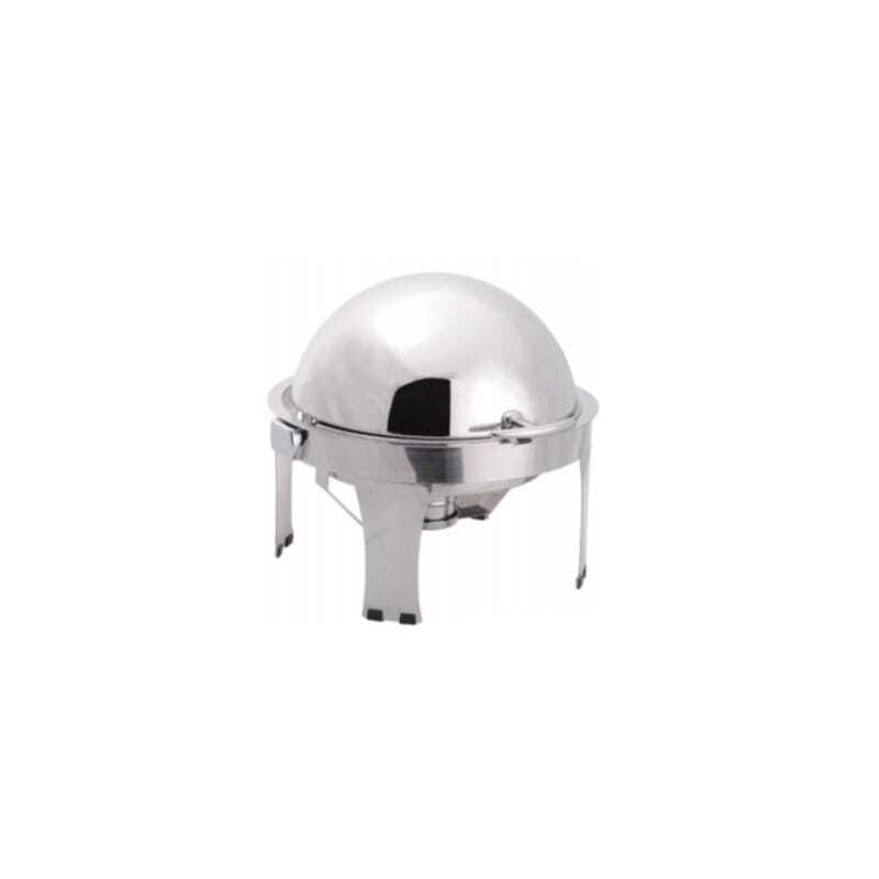 Chafing Dish Rond à Couvercle Rabattable - LUXE II
