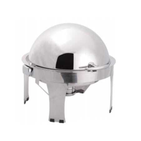 Chafing Dish Rond à Couvercle Rabattable - LUXE II FourniResto - 1
