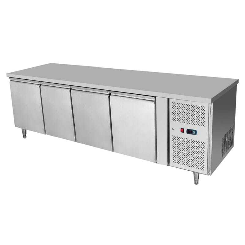 Table Réfrigérée GN1/1 Positive - 4 Portes