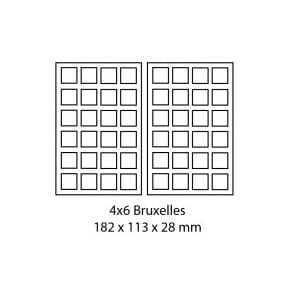 Gaufrier Électrique - 4 Gaufres Bruxelles Sofraca - 2