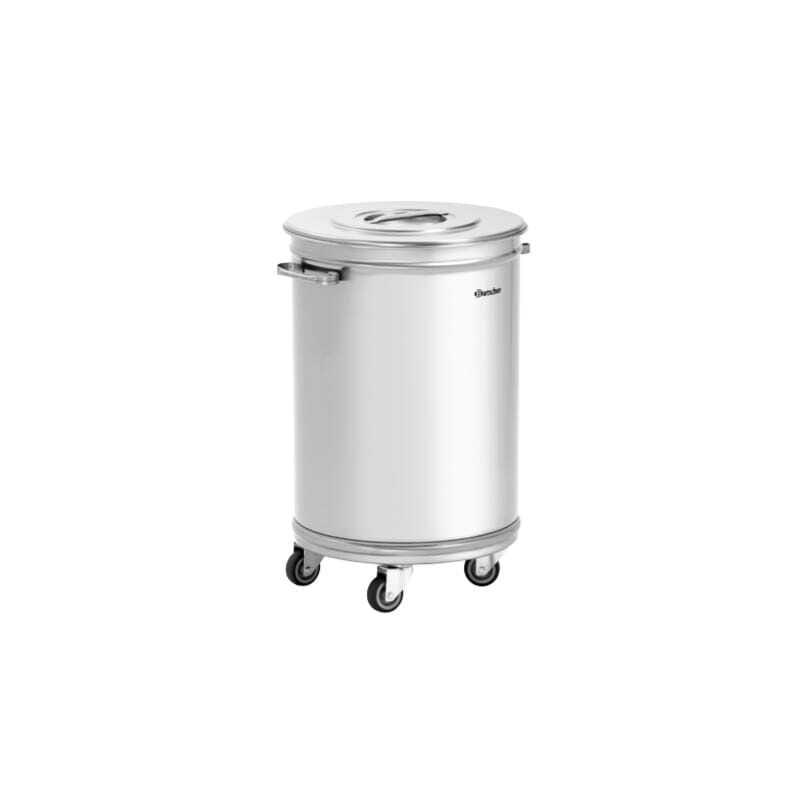 poubelle inox pour professionnels de la restauration fourniresto. Black Bedroom Furniture Sets. Home Design Ideas
