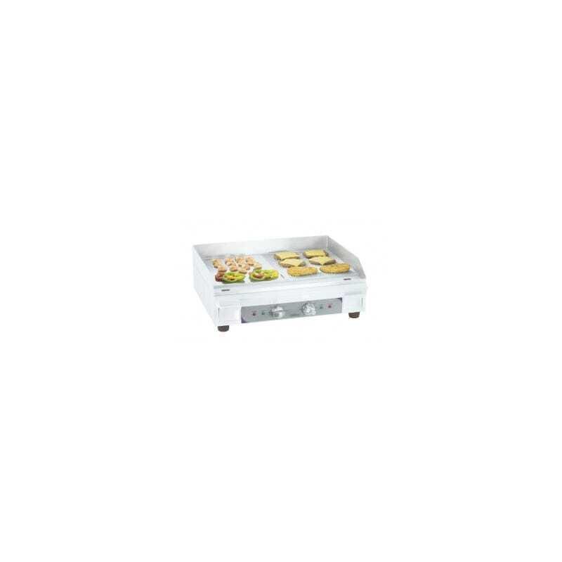 Plaque à Snacker Electrique Premium Lisse - Rainurée