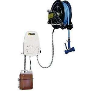 Centrale de Nettoyage Caréné & Enrouleur Automatique Inox - 15 Mètres ACSE SOFINOR - 1