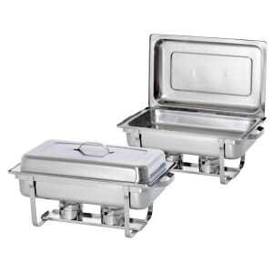Chafing Dish GN 1/1 Twin Pack