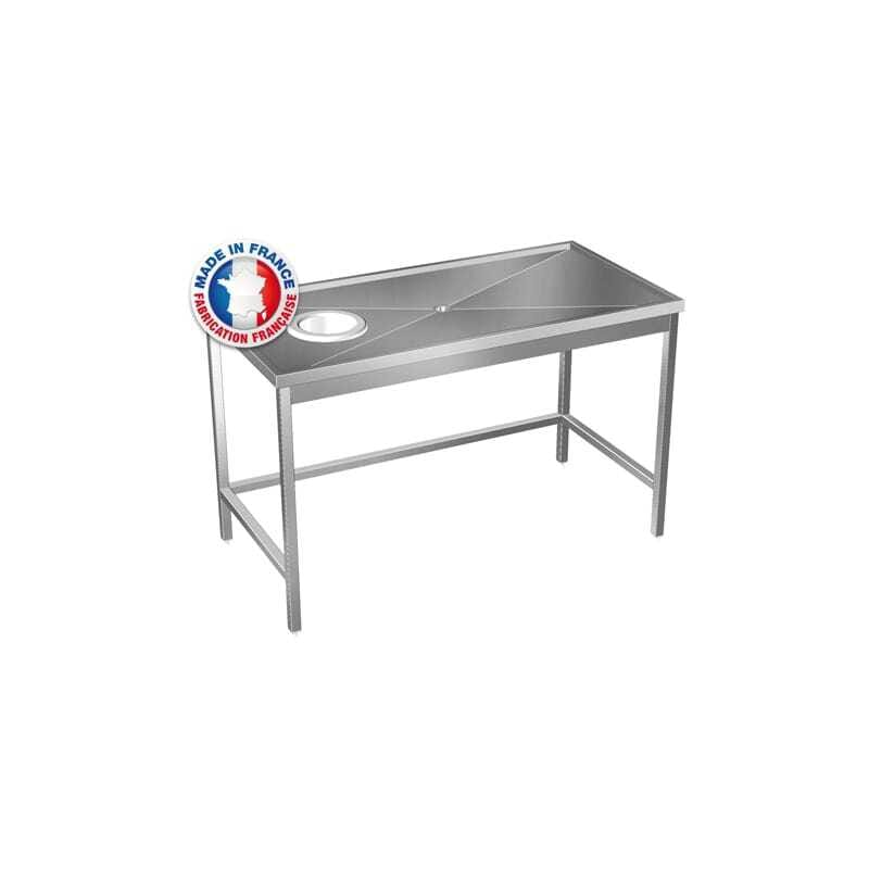 Table de Débarrassage Sur Mesure