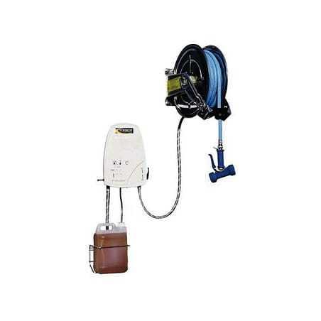 Centrale de Nettoyage Caréné & Enrouleur Automatique Inox - 20 Mètres SOFINOR - 1