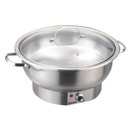 Chafing Dish Electrique Rond Bartscher - 1