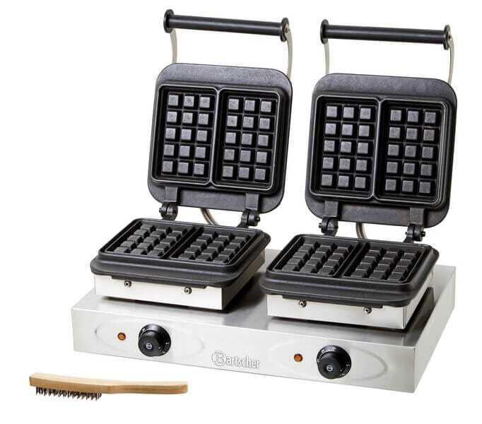 Gaufrier professionnelle table de cuisine - Appareil a crepe professionnel ...