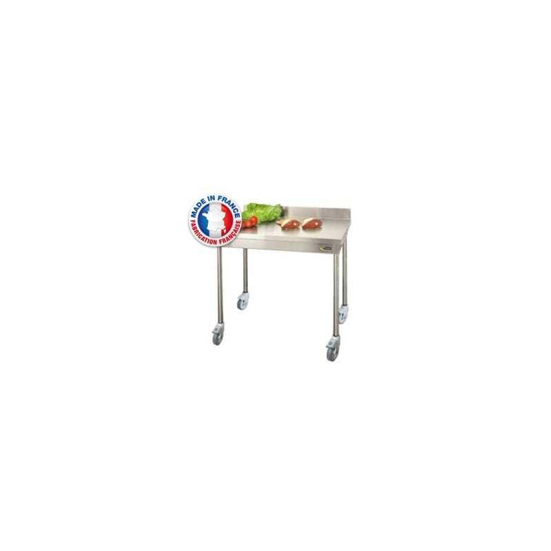 Table à Dosseret Sur Roulettes