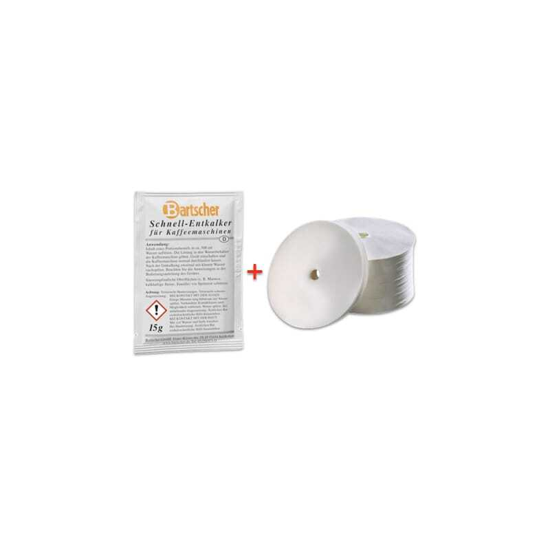 Pack détartrant et filtres Percolateur Regina 90 et Pro 100T