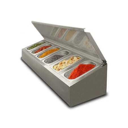 Saladette à poser non réfrigérée - 6 x GN1/4 FourniResto - 1