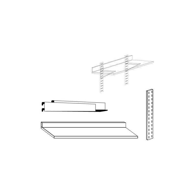 Étagère Murale - Profondeur 400 mm