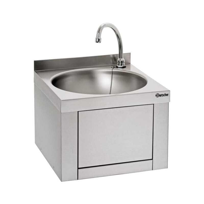 Lave Mains à Commande au Genou