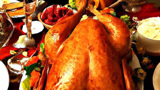 Thanksgiving le blog - Repas de noel americain ...