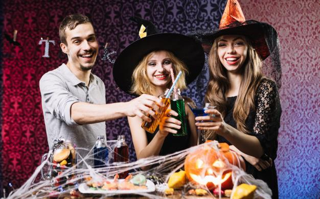 Halloween dans votre restaurant le blog - Confectionner des rideaux originaux ...