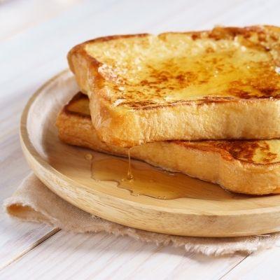 Deux tranches de pain grillé