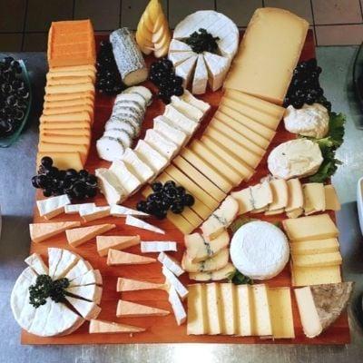 Plateau de fromages proposé par Le Resto d'ici
