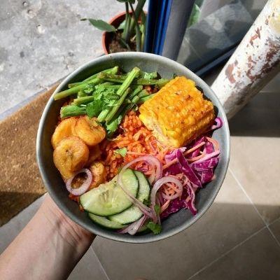 Jollof Rice Bowl, spécialité du Ola's