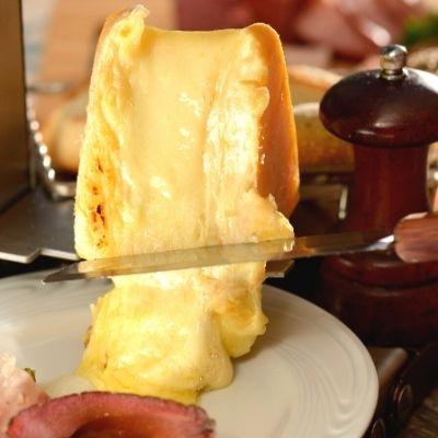 Fromage à raclette fondu