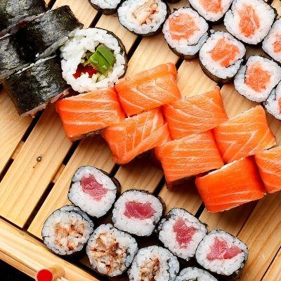Sélection de sushis