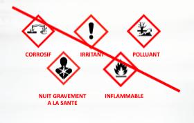 Pictogramme pour produits dangereux